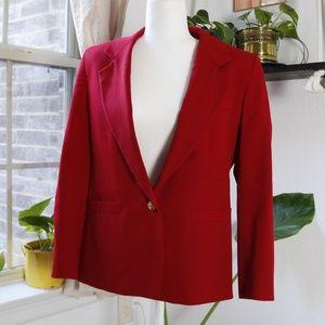 Austin Reed 100% wool jacket - RED